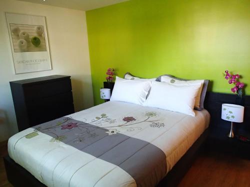 Un ou plusieurs lits dans un hébergement de l'établissement L'éco-logis
