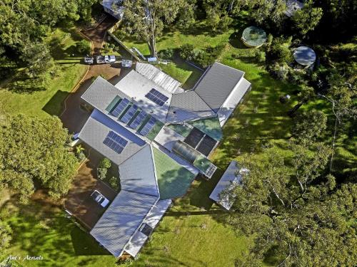 A bird's-eye view of Inn The Tuarts Guest Lodge Busselton Accommodation - Adults Only