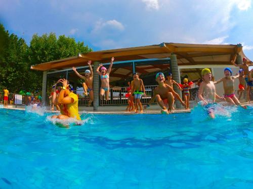 Der Swimmingpool an oder in der Nähe von Camping Village Lago Maggiore