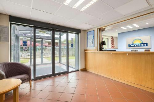 The lobby or reception area at Days Inn Winchester