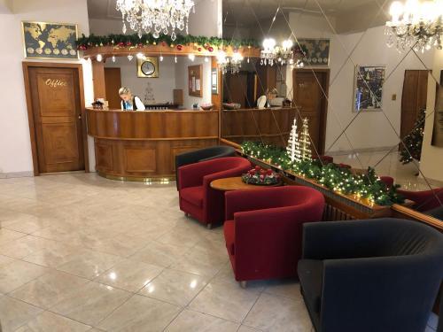 The lobby or reception area at Kavalir