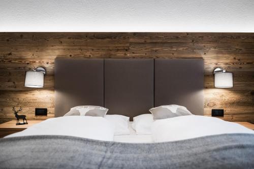 Letto o letti in una camera di Alpine Chalet Sauter