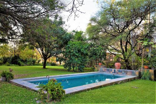The swimming pool at or near The Waterfront, Maun