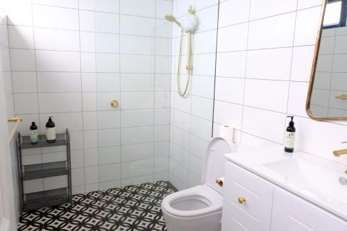 A bathroom at White House