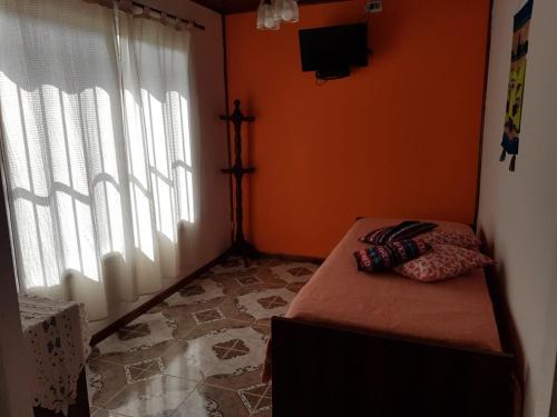 Una cama o camas en una habitación de Las Casitas de Emilia