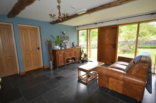 A seating area at Woodland Guesthouse