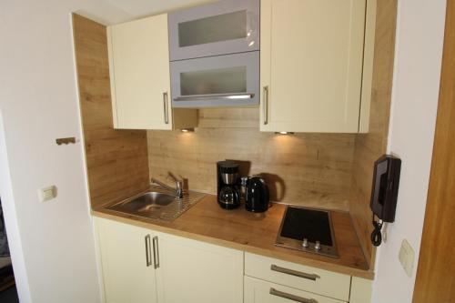 Küche/Küchenzeile in der Unterkunft Haus Kirchplatz