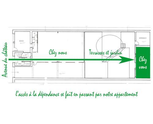 Plan de l'établissement Le Relais de Montchat