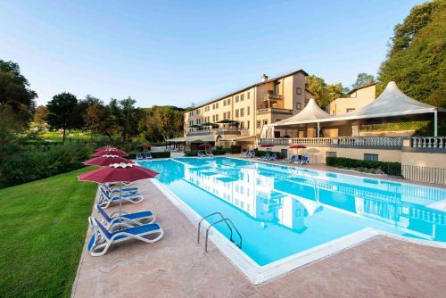 The swimming pool at or near Hotel Terme di Stigliano