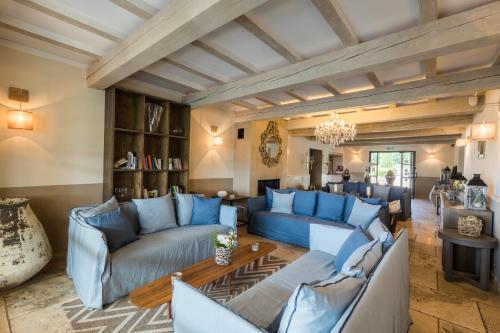 A seating area at La Bastide Saint Georges & Spa