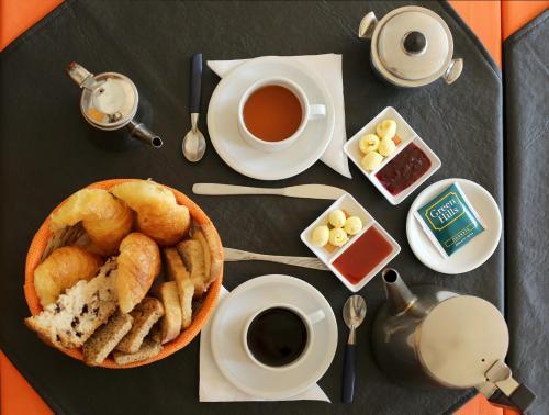 Opciones de desayuno para los huéspedes de Venezia