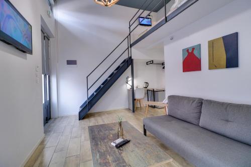 Zona de estar de athensotel.com