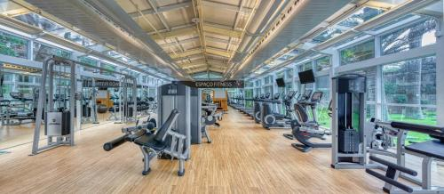 The fitness center and/or fitness facilities at Wyndham Rio de Janeiro Barra
