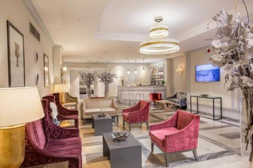 The lobby or reception area at Hotel Della Conciliazione