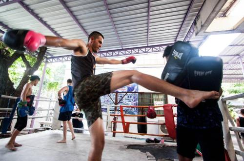The fitness centre and/or fitness facilities at Nappark Hostel @Khao San