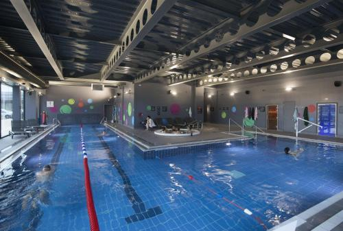 The swimming pool at or near Village Hotel Bristol Filton