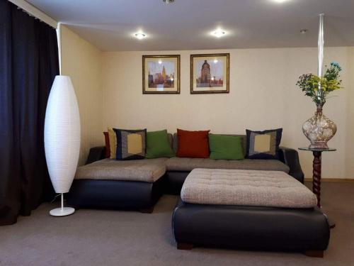 Cama ou camas em um quarto em Apartment in the Centre 01