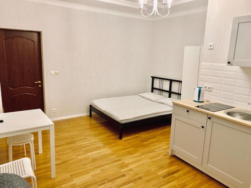 Кровать или кровати в номере SP Apart