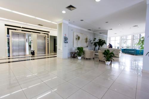 O saguão ou recepção de Di Giulio Hotel