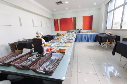 Um restaurante ou outro lugar para comer em Di Giulio Hotel