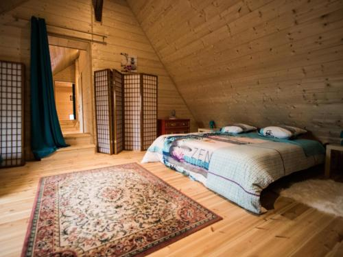 A bed or beds in a room at Chantalame
