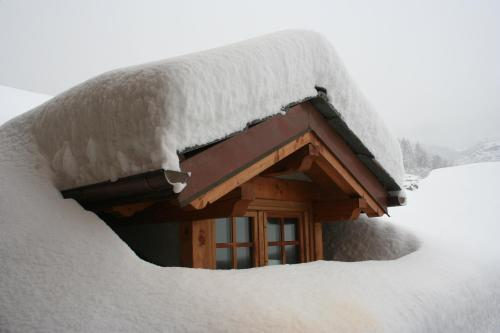 Maison Chante Lune durante l'inverno