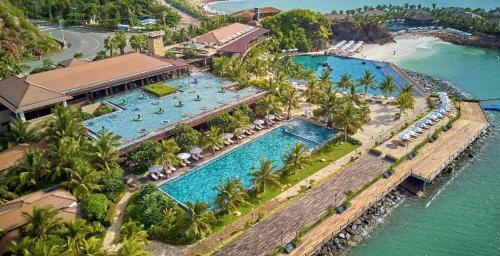 Amiana Resort Nha Trang с высоты птичьего полета