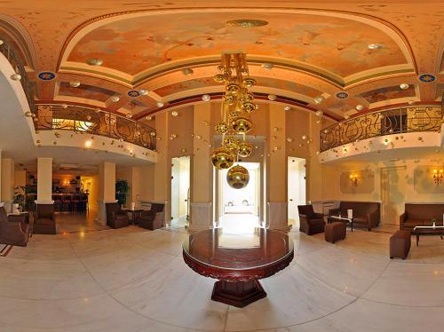 The lobby or reception area at City Marina
