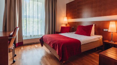 Letto o letti in una camera di Original Sokos Hotel Vantaa