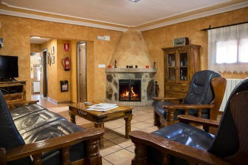 Zona de estar de Casa Rural Julian