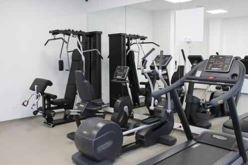 The fitness center and/or fitness facilities at K Hotel