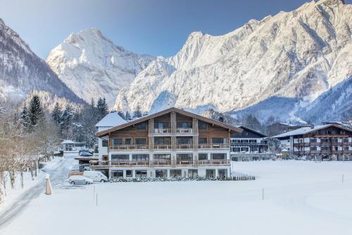 Wagner's Aparthotel im Winter