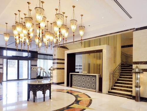 منطقة الاستقبال أو اللوبي في Meshal Madina Hotel 2