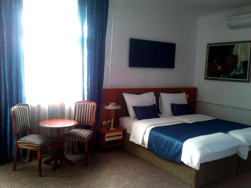 Krevet ili kreveti u jedinici u okviru objekta Hotel Leotar