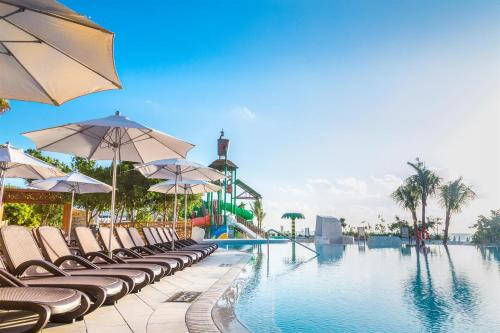 The swimming pool at or near Sandos Playacar All Inclusive