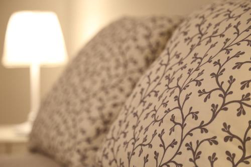 Postel nebo postele na pokoji v ubytování Apartman - Heart of Budapest
