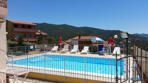 """A view of the pool at Casa vacanze """"La Caldosa"""" or nearby"""