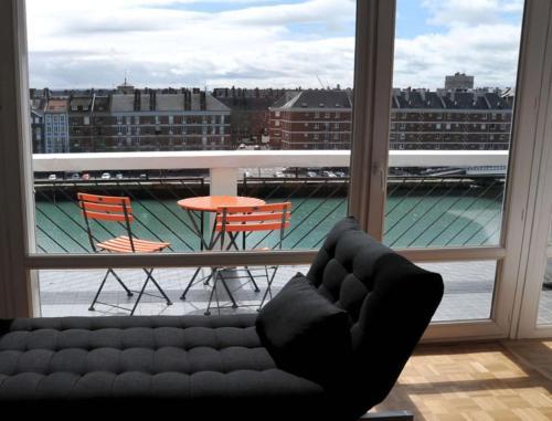 A balcony or terrace at Escale Quai George V