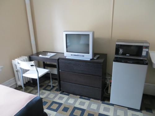 A television and/or entertainment center at Hotel North Beach
