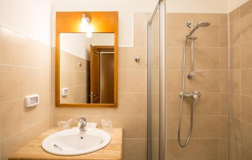 A bathroom at Hotel Kolping