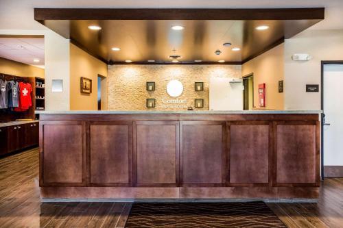 El vestíbulo o zona de recepción de Comfort Inn & Suites Niagara Falls Blvd USA