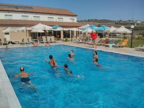 The swimming pool at or near Protaras Tennis and Country Club