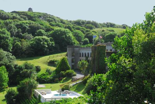 A bird's-eye view of Abbeyglen Castle Hotel
