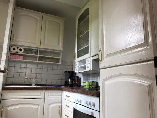 A kitchen or kitchenette at Amadeo