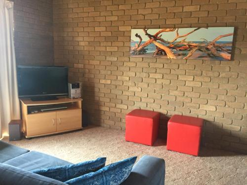 A television and/or entertainment center at Gowings of Mallacoota