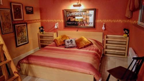 Un ou plusieurs lits dans un hébergement de l'établissement Le Relais de Montchat