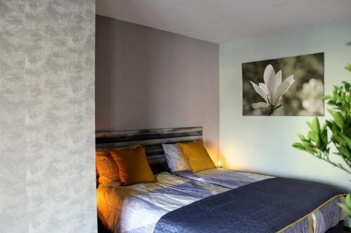 Een bed of bedden in een kamer bij Bed & Breakfast St. Antonius