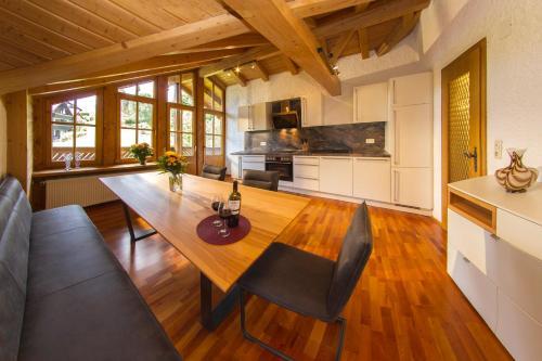 Küche/Küchenzeile in der Unterkunft Appartement-Hotel-Allgayer