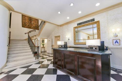 The lobby or reception area at 3 West Club