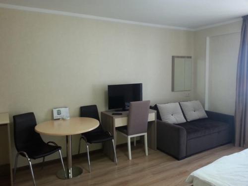 Гостиная зона в Apartment in ORBI PALACE